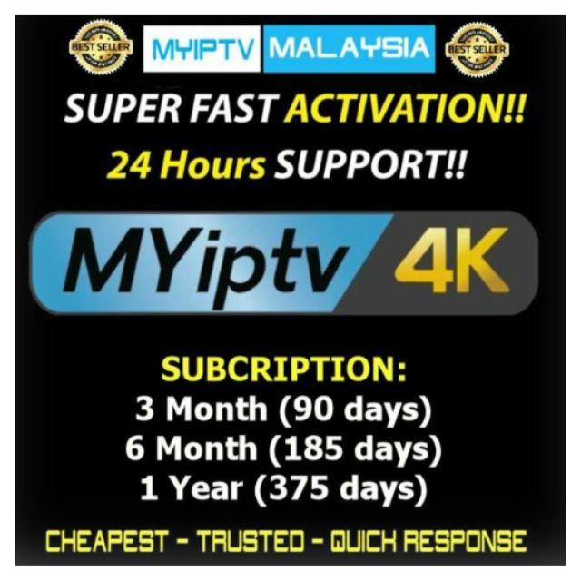 MyIPTV 4K HD Internet TV