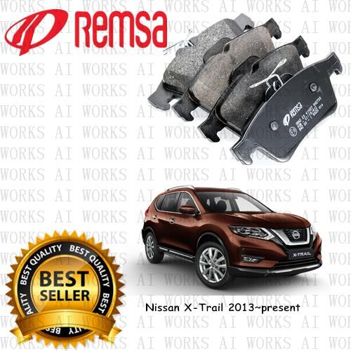 REMSA Nissan X-Trail 2013~present (T32) 650ºC Front Brake Pad