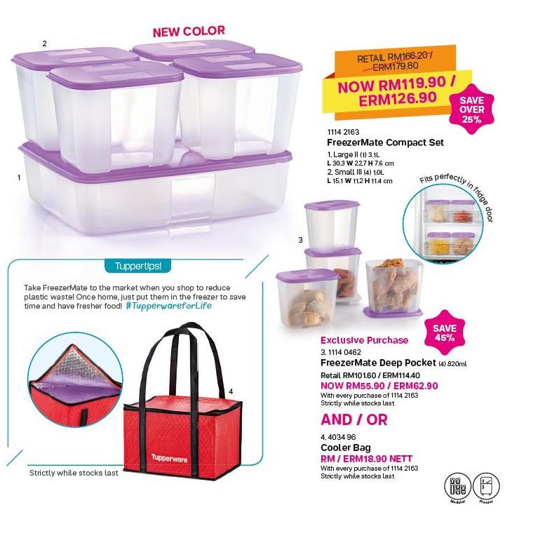 Tupperware FreezerMate Compact Set