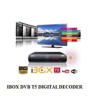 IBOX DVB T5 DIGITAL DECODER (READY STOCK)