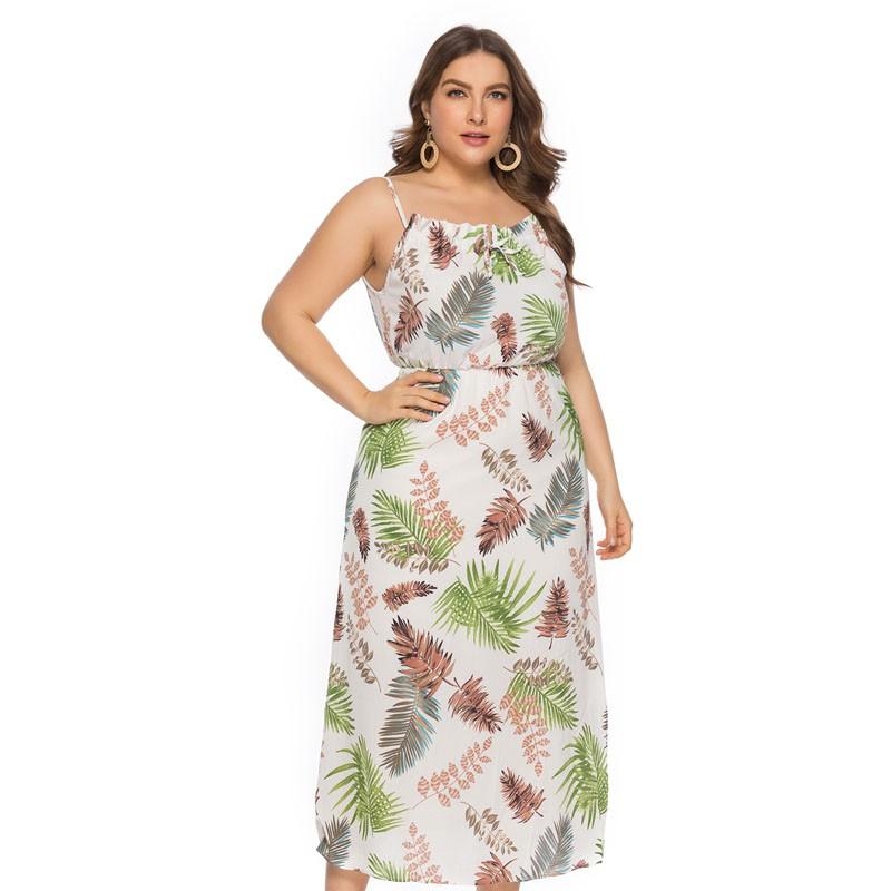 7f59eb047e ProductImage. ProductImage. Ready Stock Wome Plus Size A-line Midi Dresses