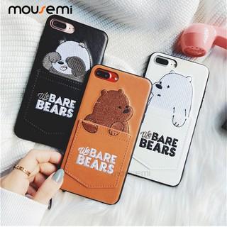 Cartoon We Bare Bears Shockproof Soft TPU Phone Cases for