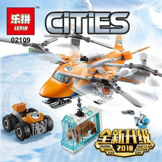 LEPIN City 02109 Arctic Air Transport Model Toys kids Gift (lego 60193)