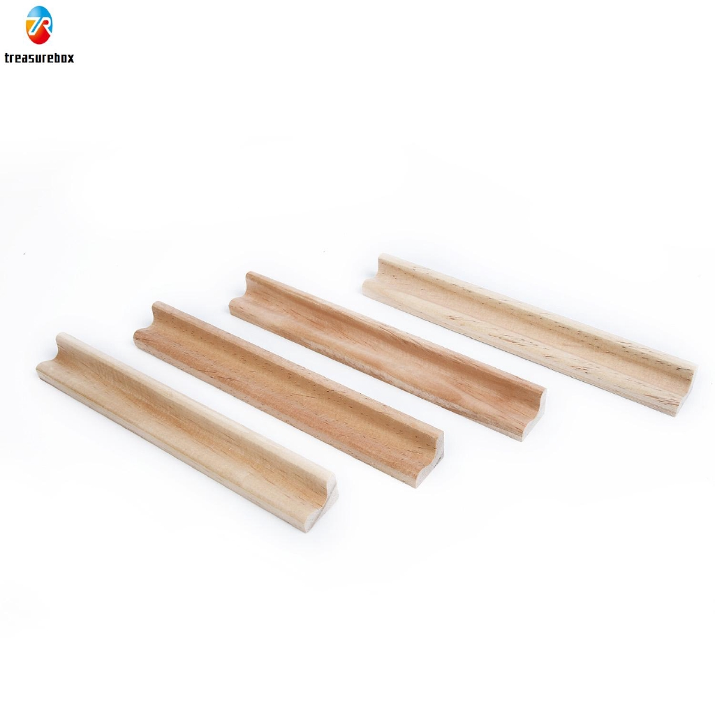 4* Wood Scrabble Tile Rack Wooden Replacement Stand Letter Holder Kit New Hot