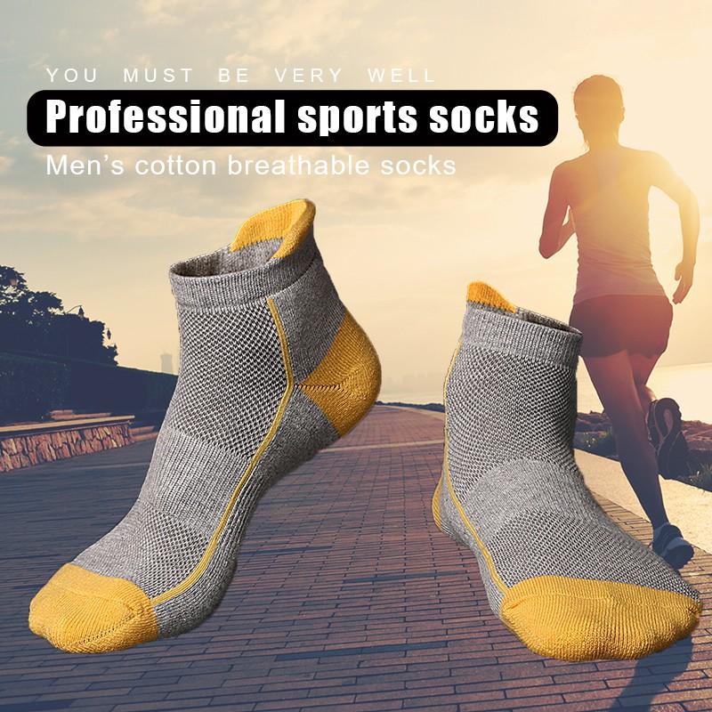 14380b65b7 3 Pairs/lots Breathable Comfort Short Socks Mens Coolmax Quick-drying Sock  2319   Shopee Malaysia