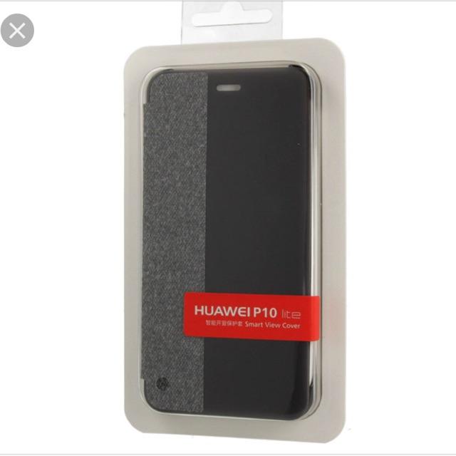 the best attitude 13445 b04c9 Original Huawei P10 Lite Smart View Flip Cover