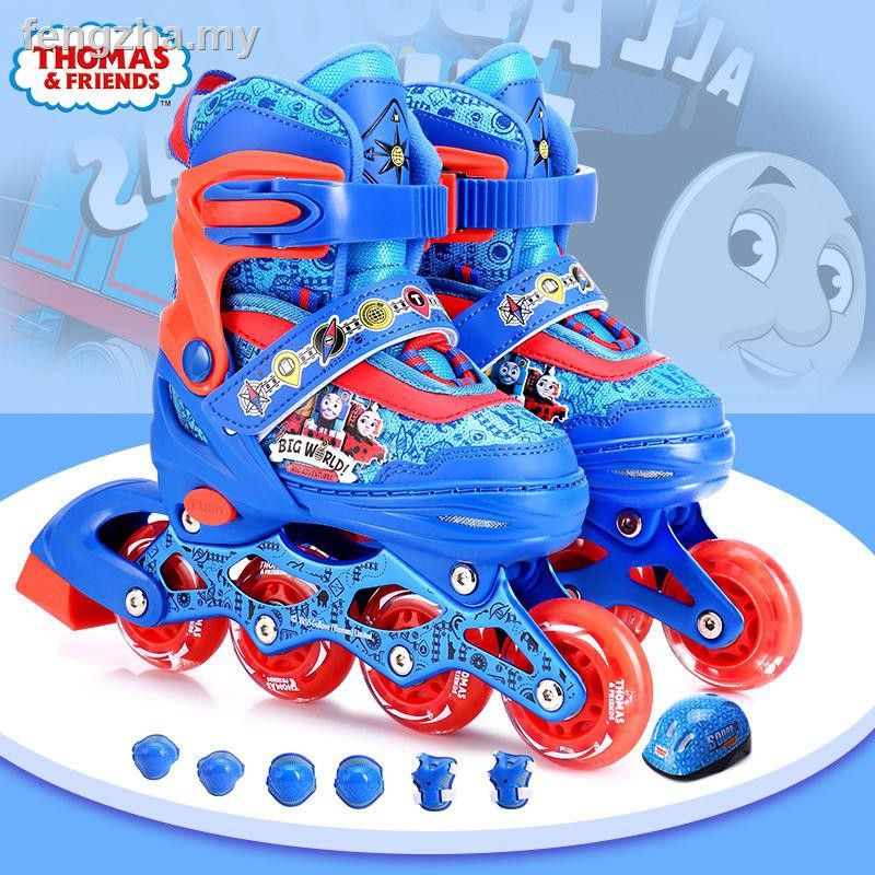 The Skating Shoes Thomas Skate Kids Adjustable Flash Dry Skates Beginners Full Set Of Roller For Boys And Girls Shopee Malaysia