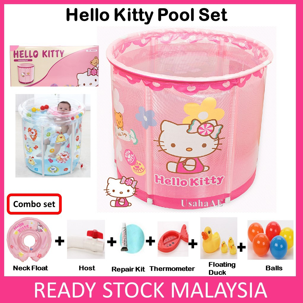 Swimming Pool Baby Kid Bathtub Hello Kitty Mickey Mouse