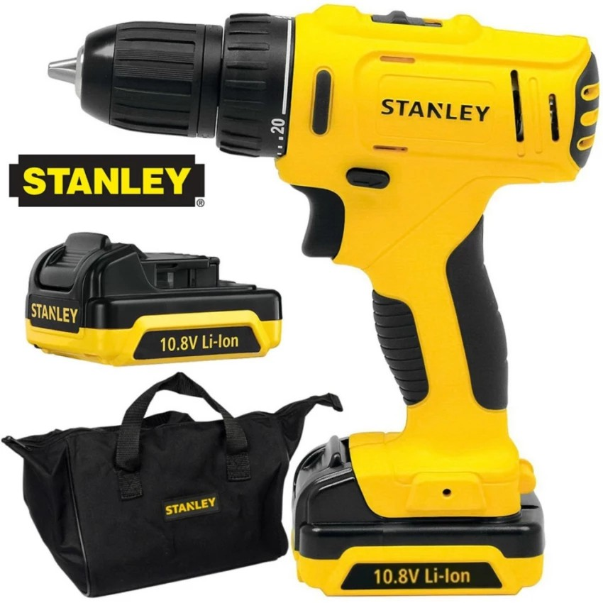 Stanley SCD12S2 Compact Cordless Drill Driver 10.8V Screwdriver BATTERY