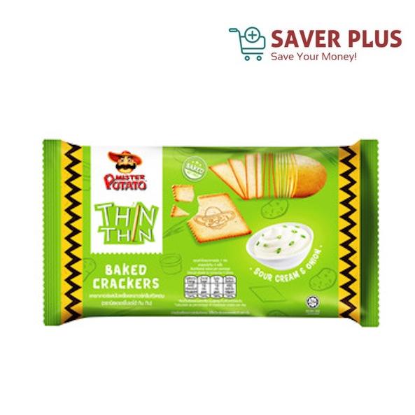 Mister Potato Thin Thin Baked Crackers