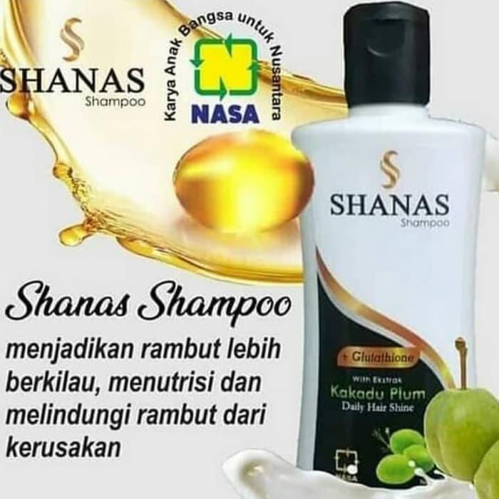 Shanas Shampoo Pelembut Rambut Pencegah Rambut Rontok Shampo Penghilang Uban
