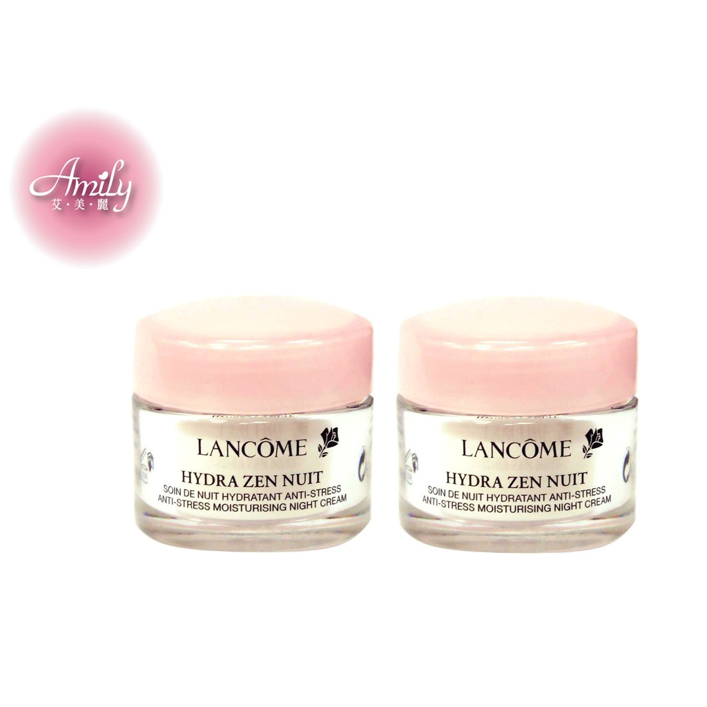 Lancome Hydra Zen Anti Stress Moisturising Cream Gel New Packing Lancme 50ml Trial Size Shopee Malaysia