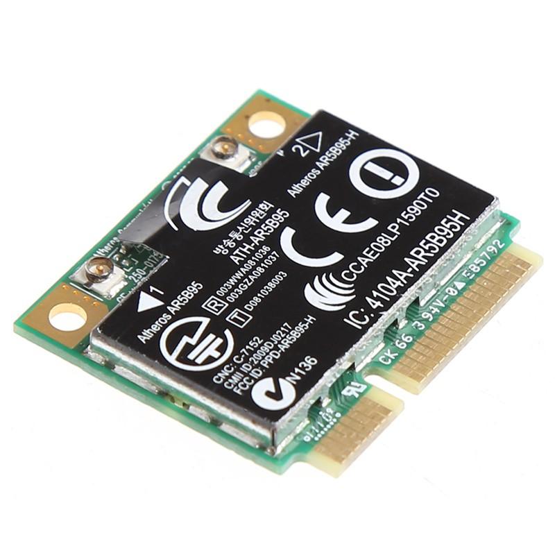 ☀S☀Wireless 150M 802 11b/g/n Half Mini PCI-E Card For HP Atheros AR5B95