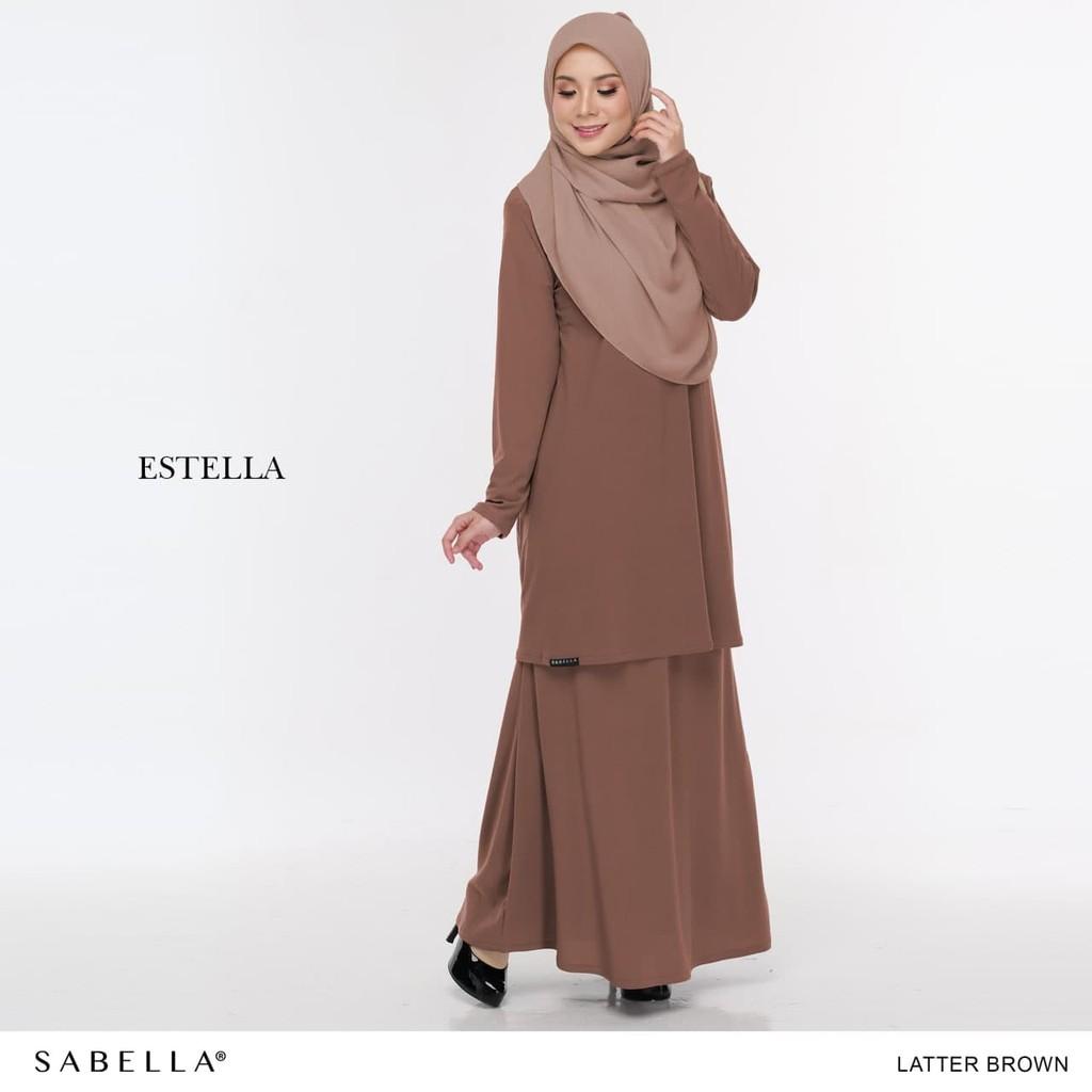 Sabella Estella Kurung Size  L [Ready Stock]