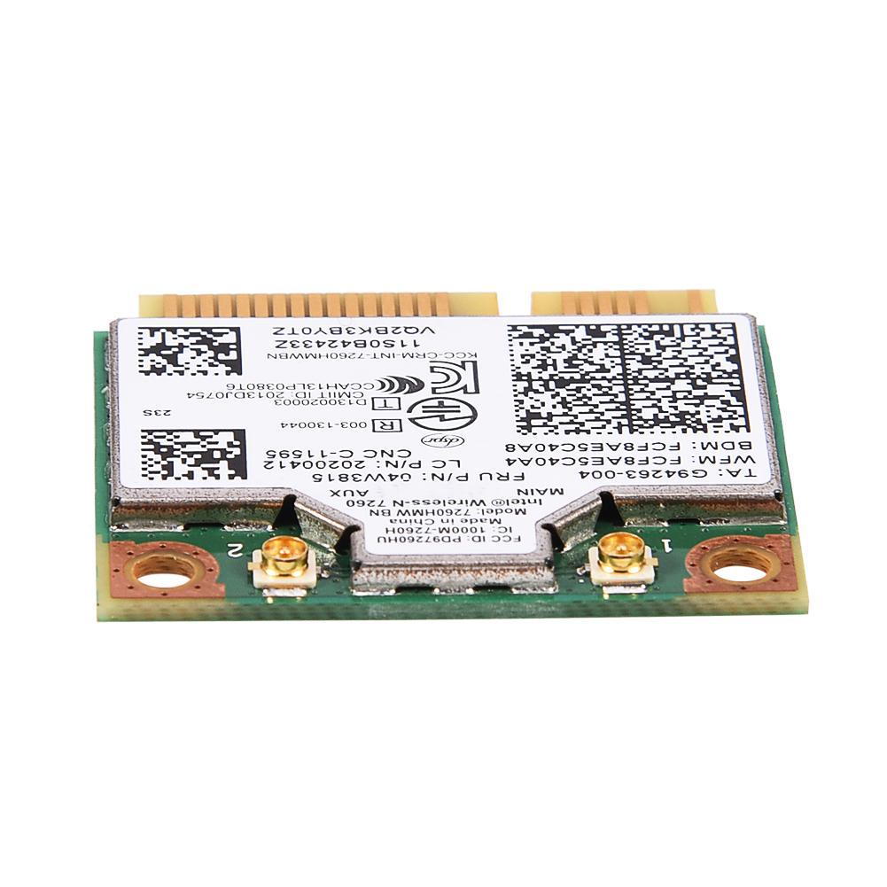Dual Frequency Wireless Network Card for Intel 7260 AC 867Mbps