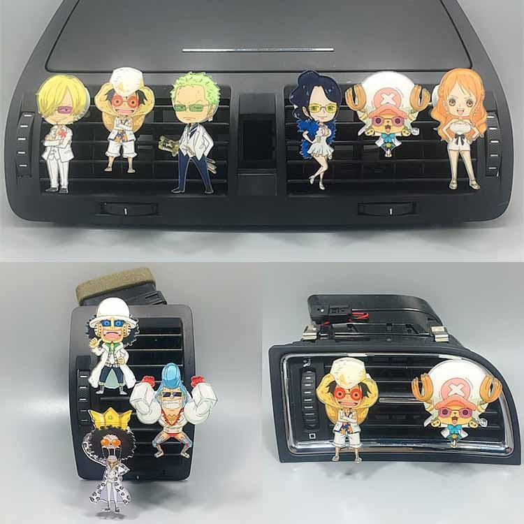 Anime One Piece Car Air Perfume Car Decor Accessories