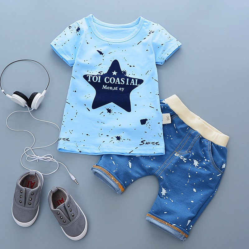 Clode for 0-5 Years Old Infant Baby Kids Boys Girls T-Shirts Cartoon Cat Tops Undershirt Outfits Clothes