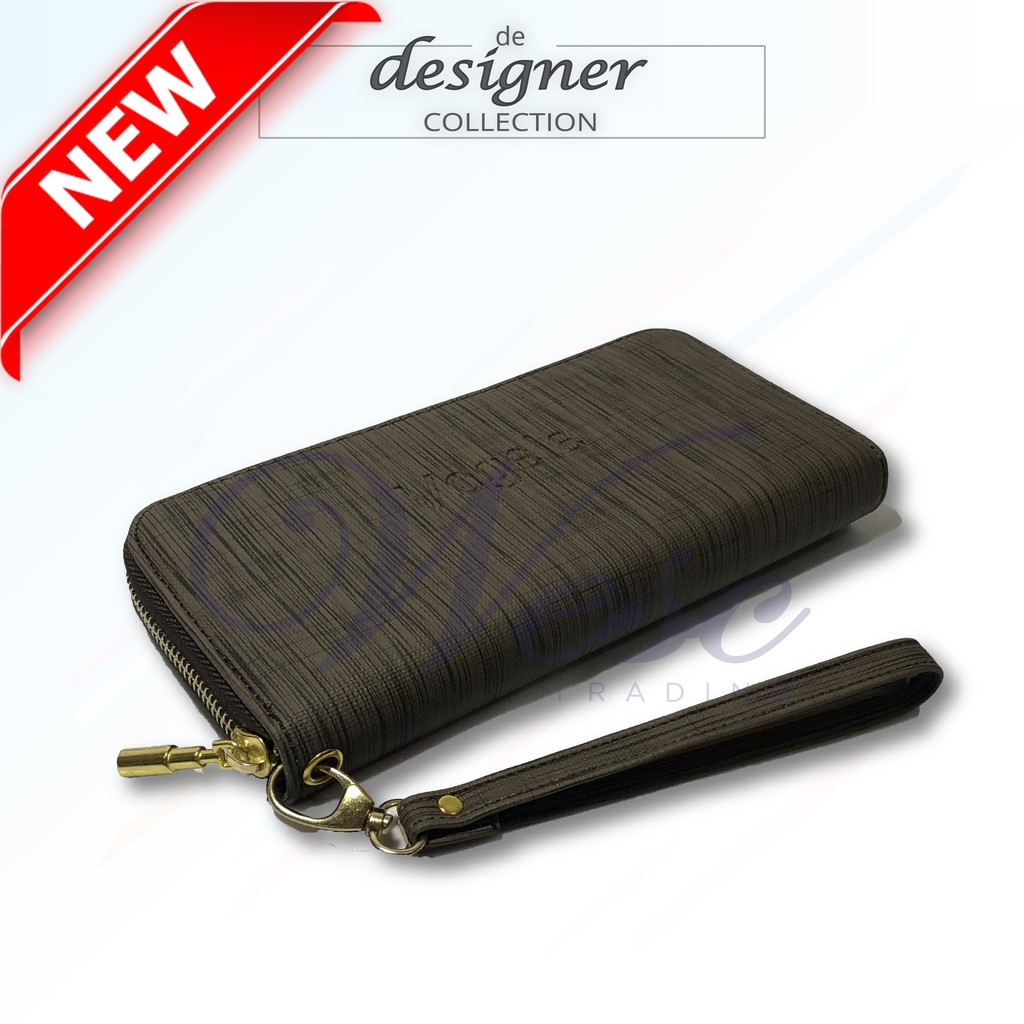 Korean Designer Stylish Long Zipper Purse - LIMITED EDITION (Brown - VGL)