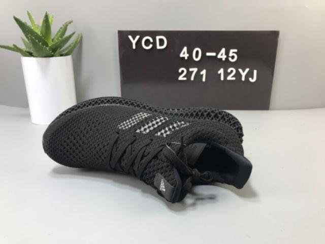 Adidas Ultraboost Futurecraft 4D Running Shoes Men All Black Premium - 40-45 EURO