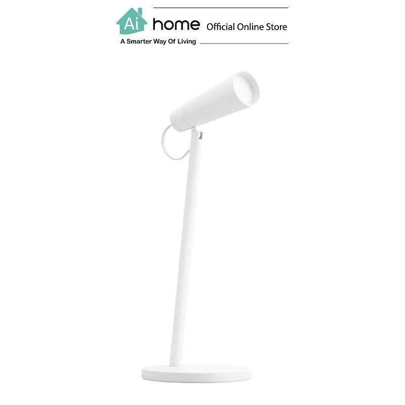 XIAOMI MIJIA Rechargeable Portable Table Lamp (White) with 1 Year Malaysia Warranty [ Ai Home ]
