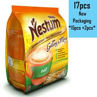 Nestle Nestum Grains & More 3 in 1 (15pcs / 17 pcs)  Original, Chocolate, Honey , Oat