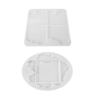 New Silicone Crystal Epoxy Mould Crafts Making Tool Skull Ashtray Resin Mold DIY
