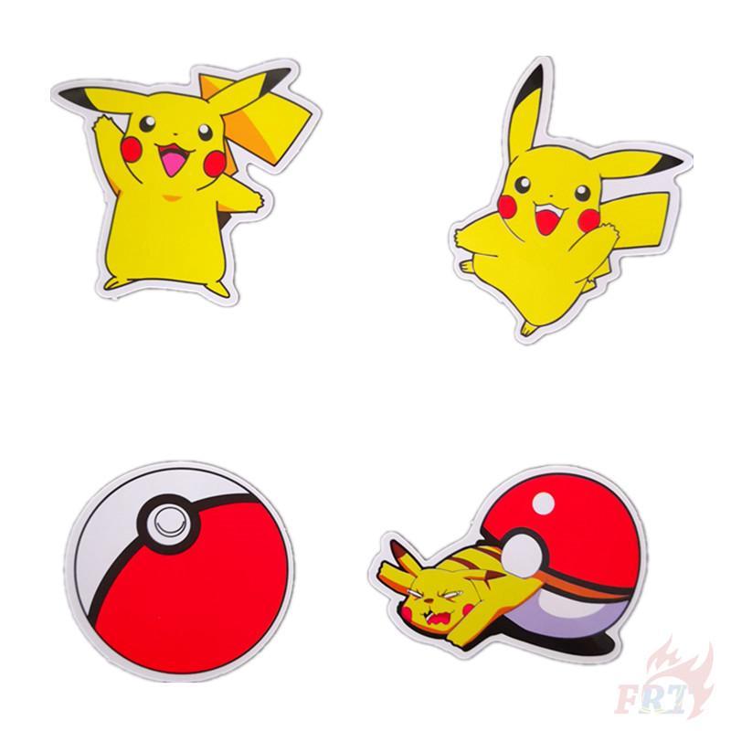 Stickers Pokemon.Ready Stock Diy Stickers 1pc Decals Stickers Pokemon Go Pikachu