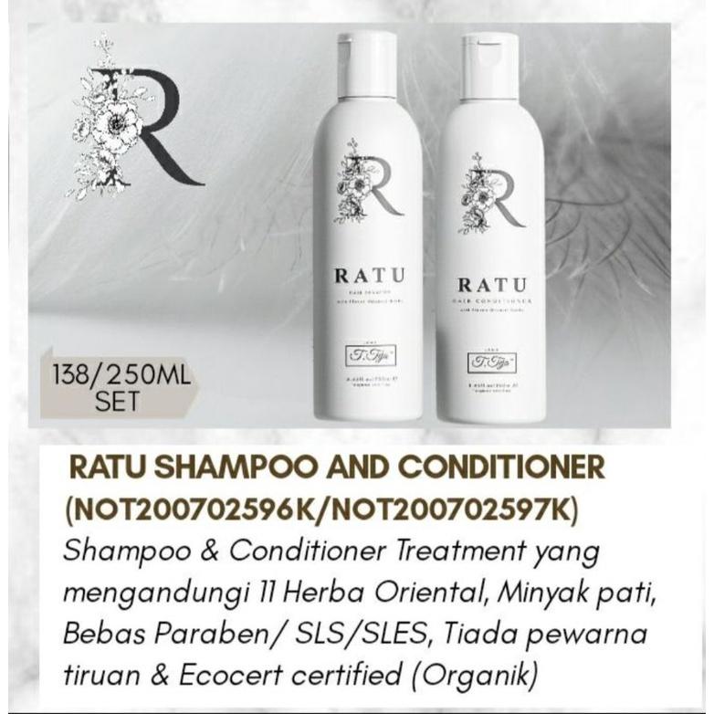SYAMPOO & CONDITIONER (RATU) BY JTT