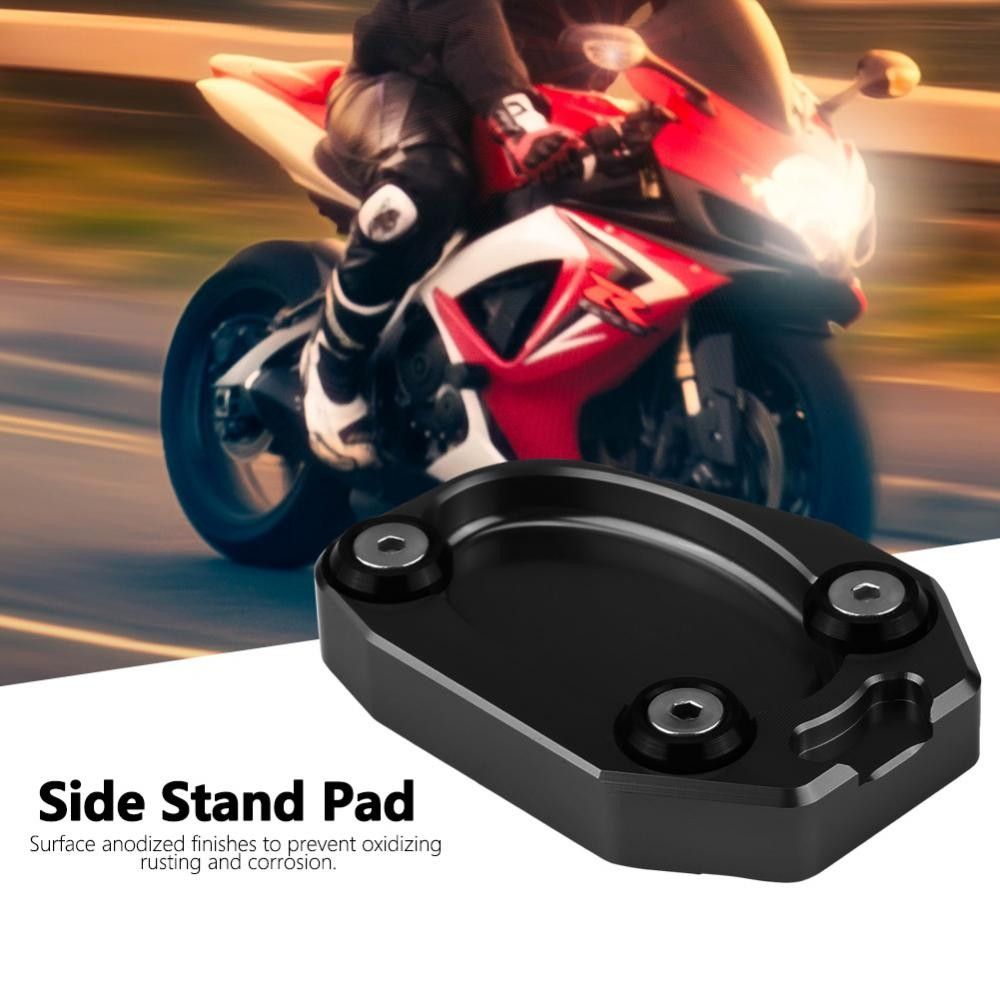 For KAWASAKI Z900 Versys-X300 Z1000SX kickstand sidestand extension enlarger pad
