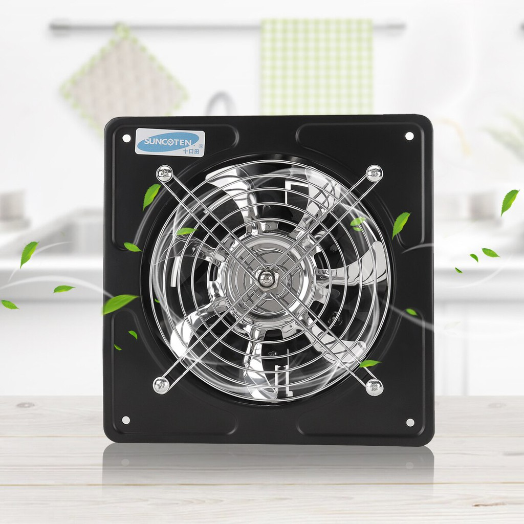 40w 6 Inch 220v Ventilation Exhaust Fan Kitchen Bathroom Window Ceiling Wall Mounted Blower Home System Shopee Malaysia