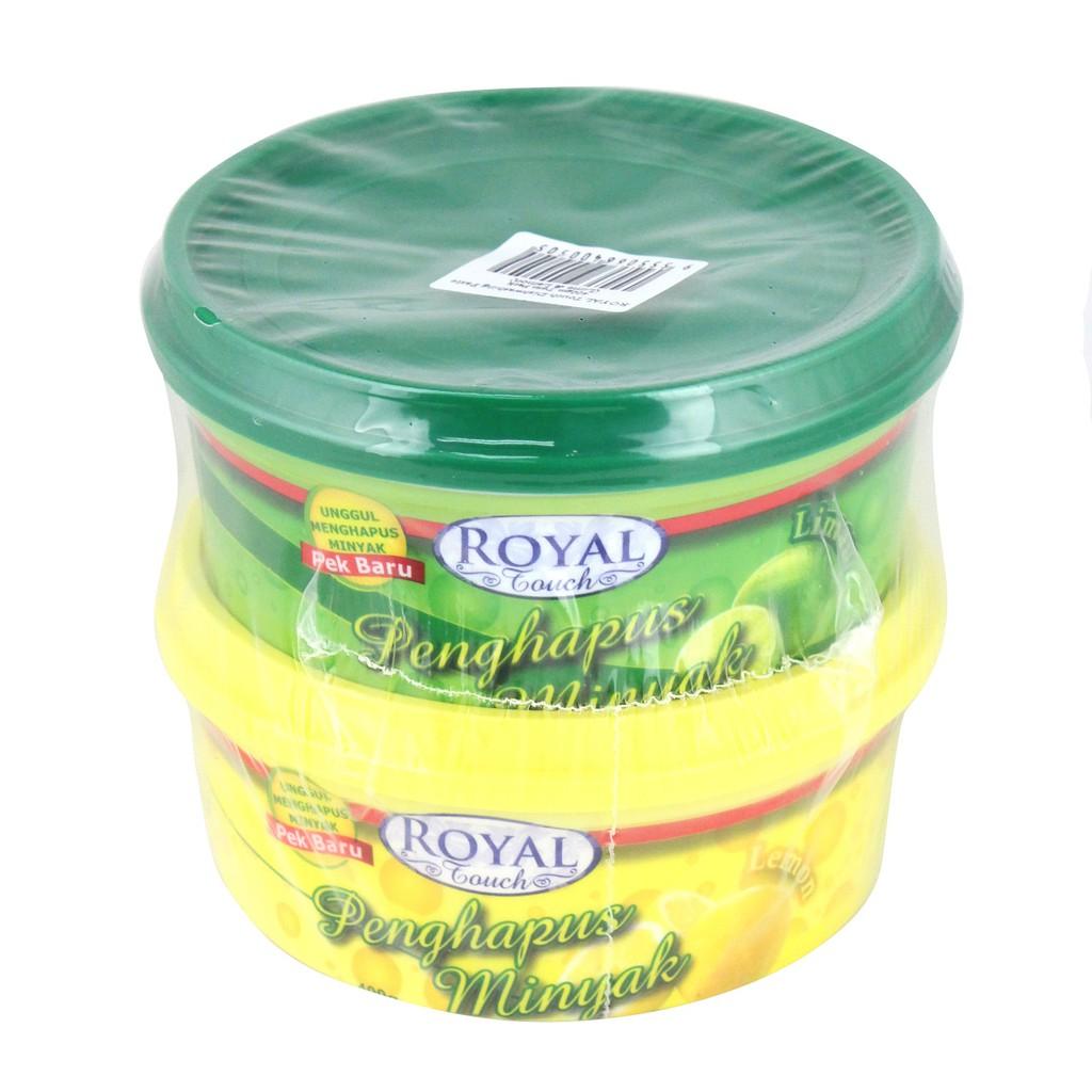 Royal Touch Dishwashing Paste (400g) – Lime & Lemon