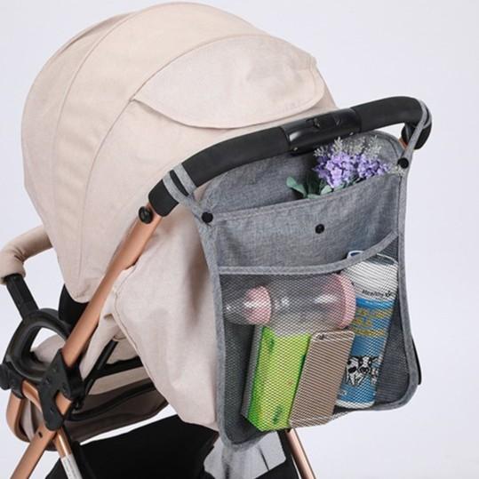 Baby Storage Bag Carriage Bag Baby Stroller Back Bag  婴儿推车后袋 BB0009