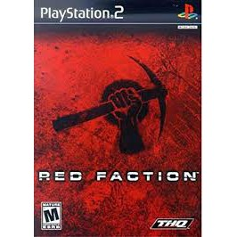 PS2  Red Faction [Burning Disk]