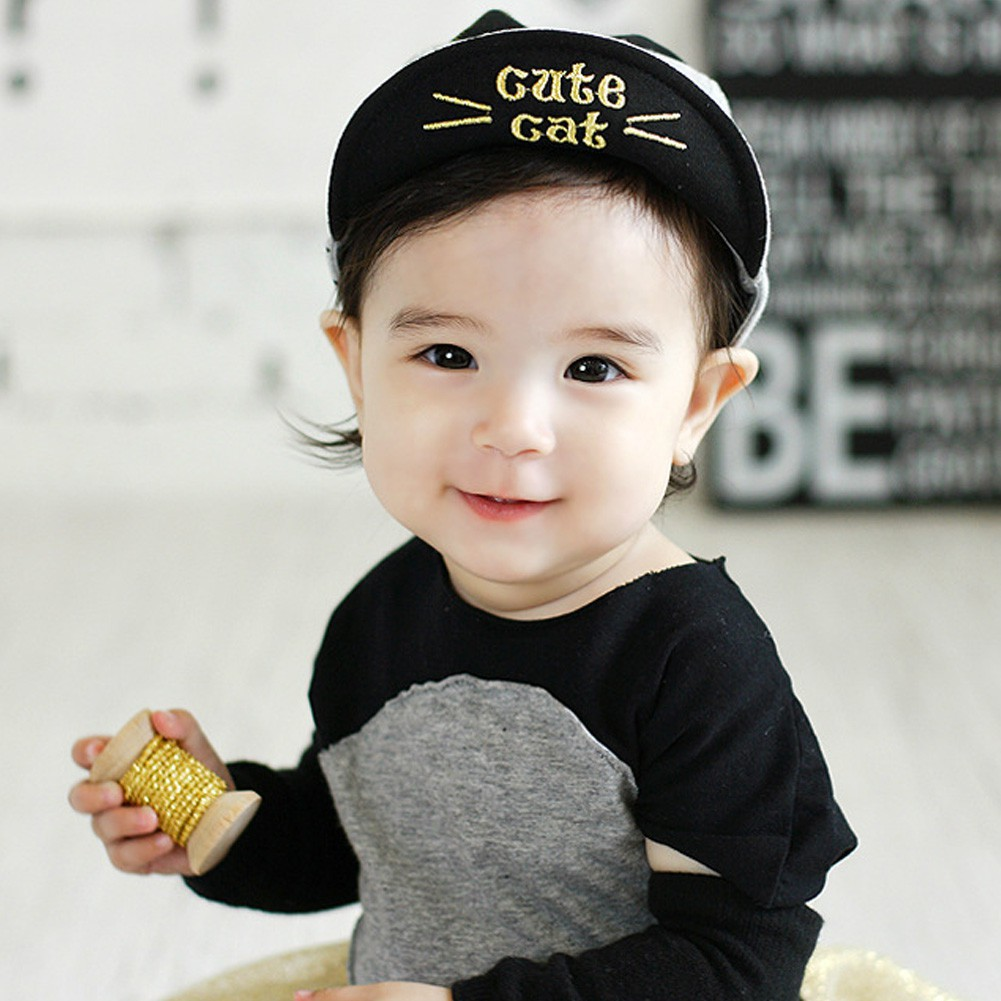 9d32e3188e9f7 ProductImage. ProductImage. Spring Summer Baby Hats Baseball Cap Boy Beret  Girls Sun Hat