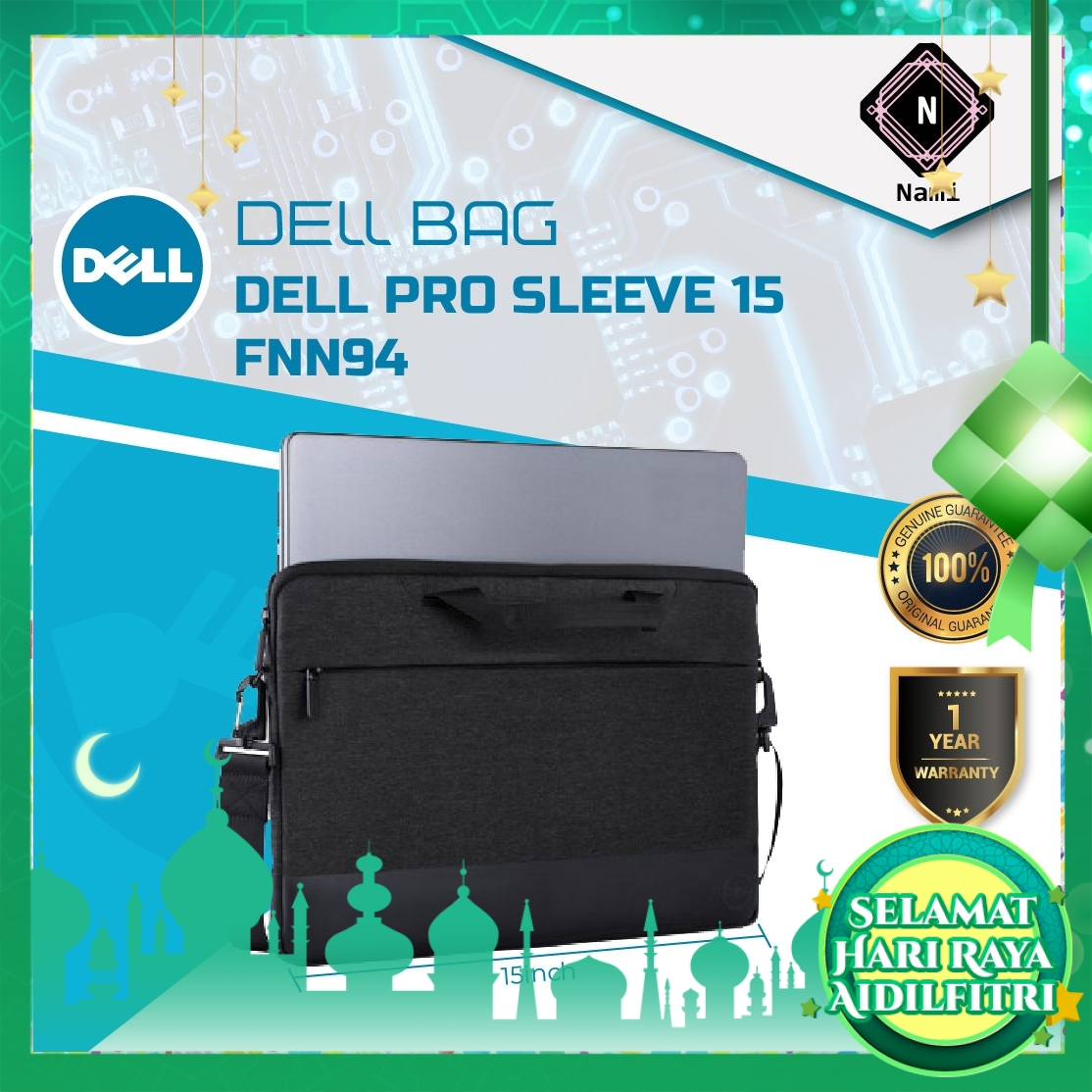 Dell Professional Sleeve 15''