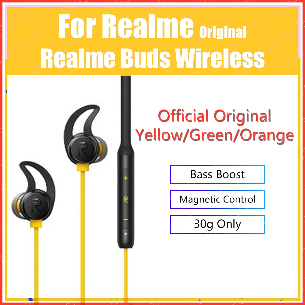 Ship Fast Oppo Realme Buds Wireless In Ear Bluetooth With Mic Sport Earphones Shopee Malaysia