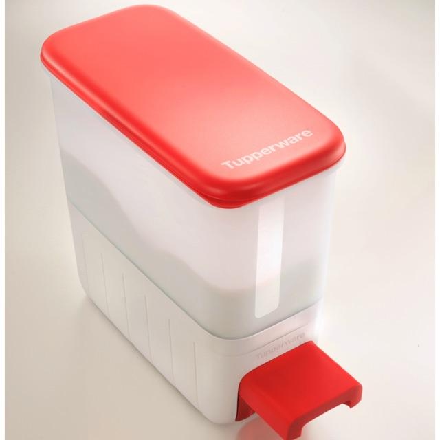 Bekas Beras Tupperware 10kg / tempat isi beras / Rice container / rice storage