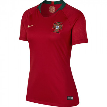 Portugal Women Home World Cup 2018 Fans Issue Jersey