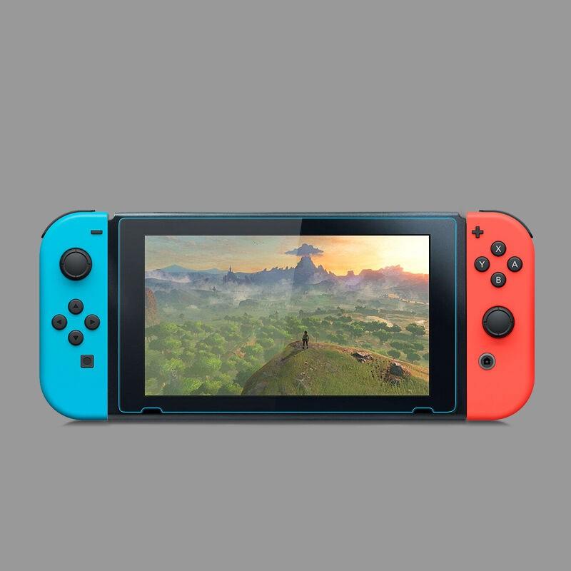 9H HD Tempered ฟิล์มกระจก Protector Guard Shield Clear Nintendo Switch