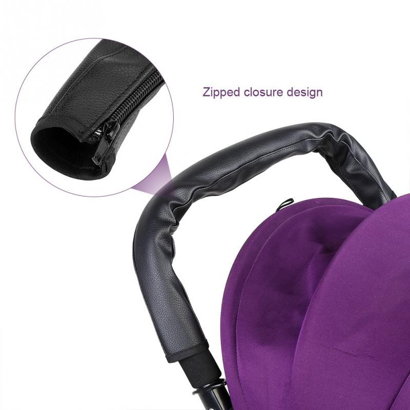 Oxford Baby Pram Pushchair Stroller Bumper//Handle Bar Bumper Fastener Cover 8C