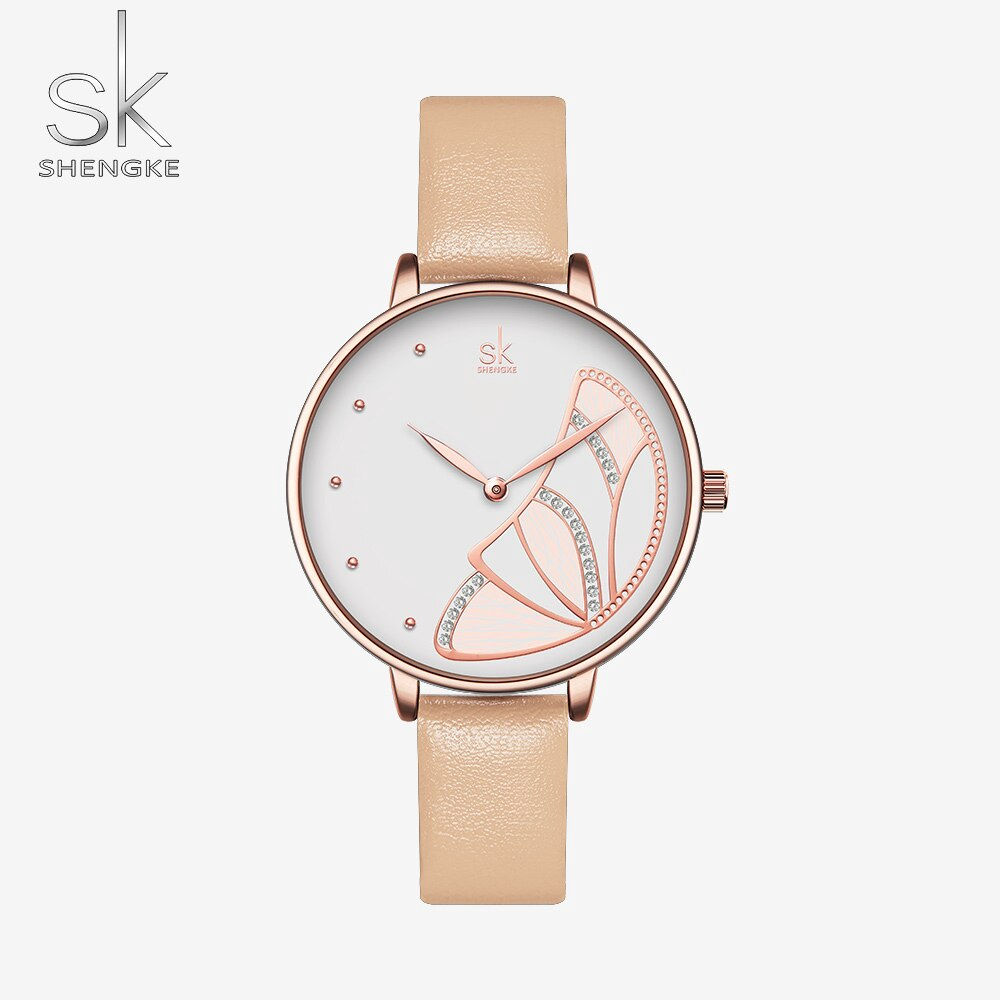 10ac01b61 🔥 New Desgin🔥Shengke Fashion Quartz Watch Diamond Dial Ladies Watch  Classical Women Wristwatch Japan Movement Watch | Shopee Malaysia