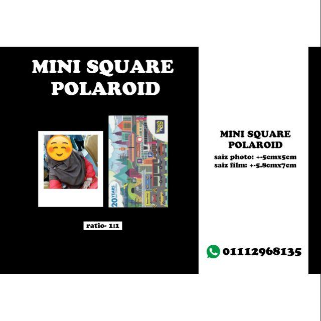 60pcs240pcs 57cm69cm Mini Square Polaroid Shopee Malaysia