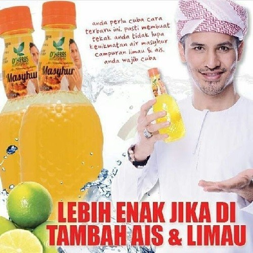 Dherbs Air Minuman Mashyur 8+1 500ml