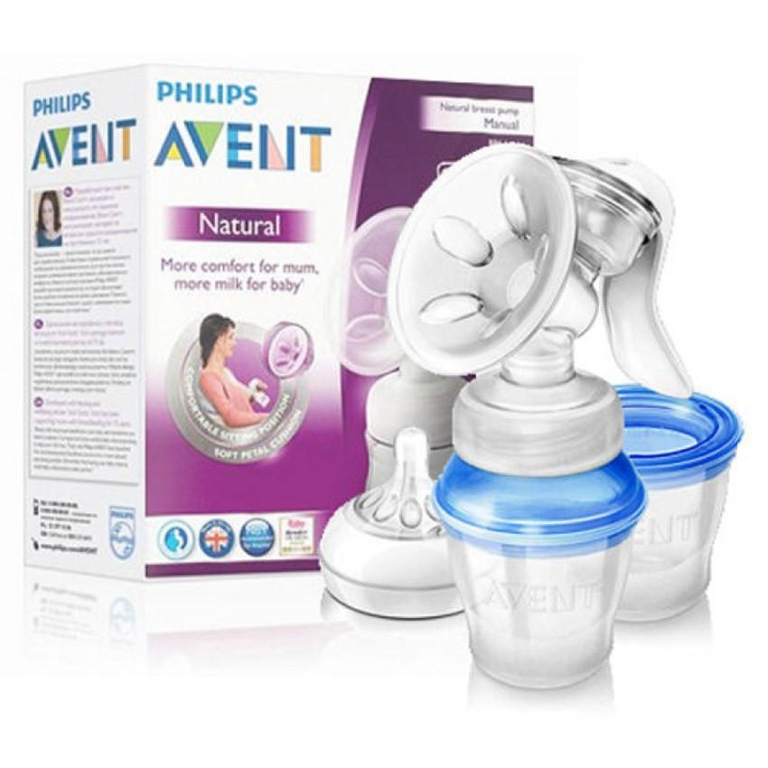 Manual Breast Pumps Philips AVENT Comfort Natural Manual Breast ...