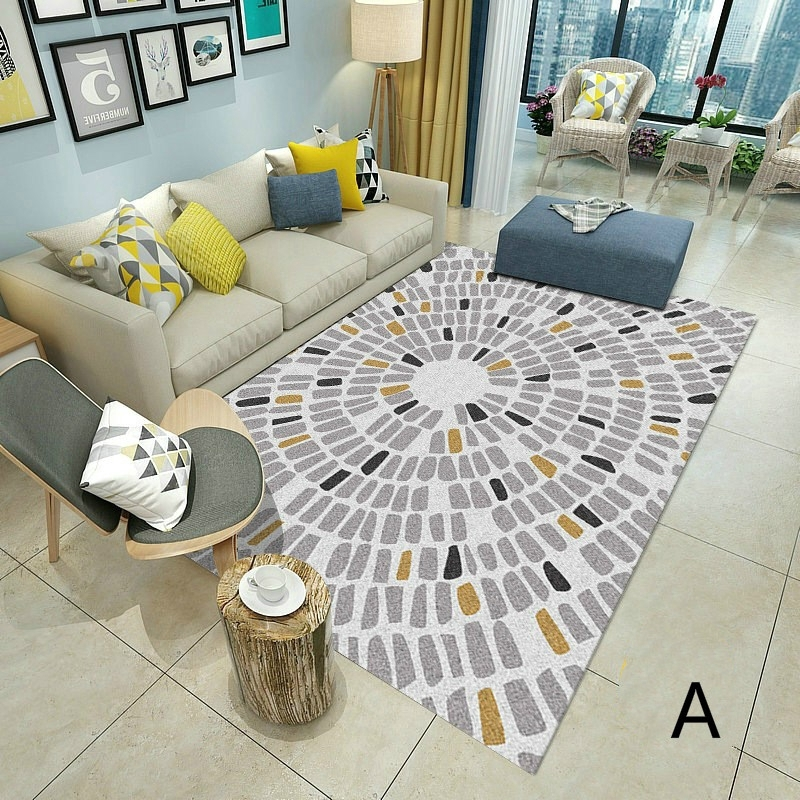 Hot Sale Carpet Modern Karpet Rug Top Quality Black And White For Home Decor Cool Shopee Malaysia