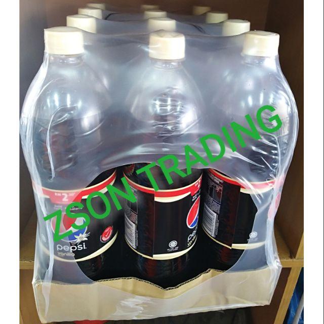 Pepsi Black Vanilla 1.25L Liter Litre