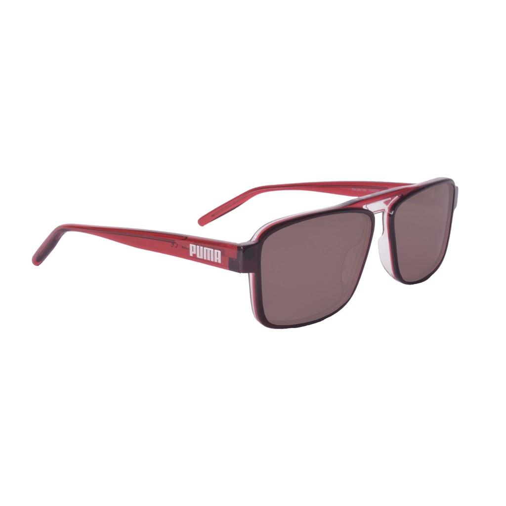 Puma Sunglasses - PU0251S-004 - Grey & Red & Brown