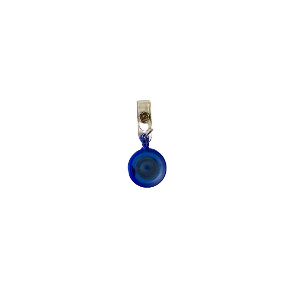 Round Shape Yoyo Pulley For ID Tag Holder (Blue)