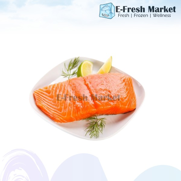 Salmon Fillet Portion Cut, 200g (Penang Only)