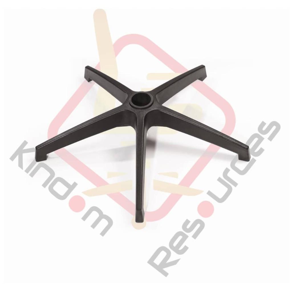 Office Chair Rocket Base/Office Chair Base Office Chair Leg High Quality Nylon Base 5 Star Leg Tapak Lima Bintang Ikea